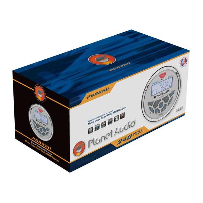 PGR35B Planet Audio 3.5-Inch Marine MP3/Radio Bluetooth Receiver 5