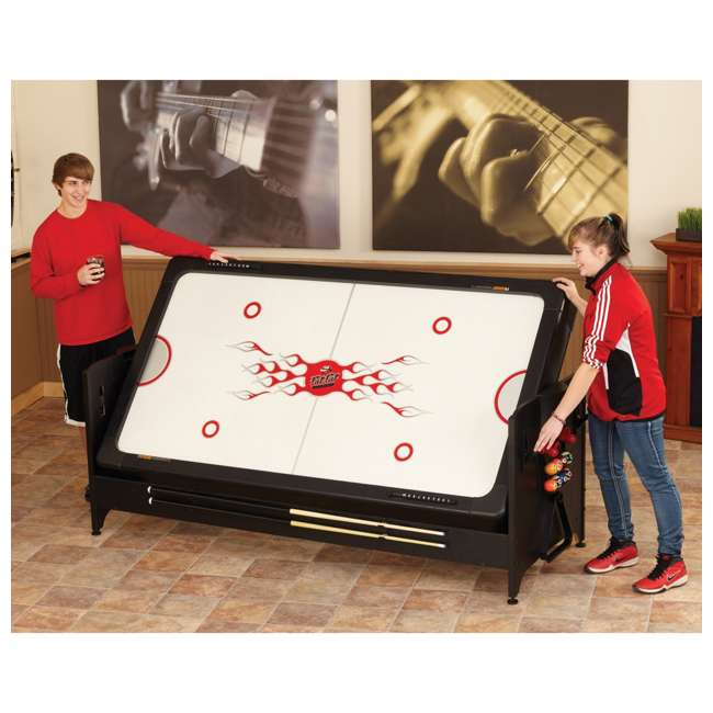 64-1046 Fat Cat 3-in-1 Air Hockey, Billiards, and Table Tennis Table 6