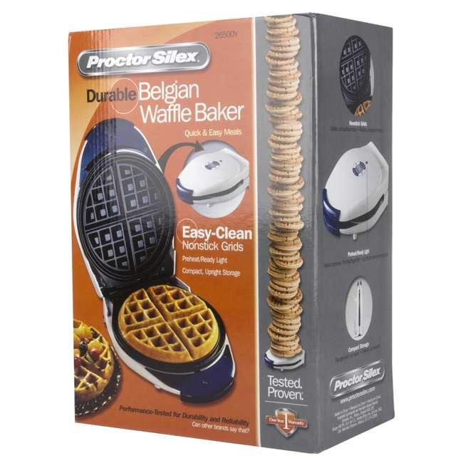 26500Y Proctor-Silex Belgian Style Waffle Maker | 26500Y  7