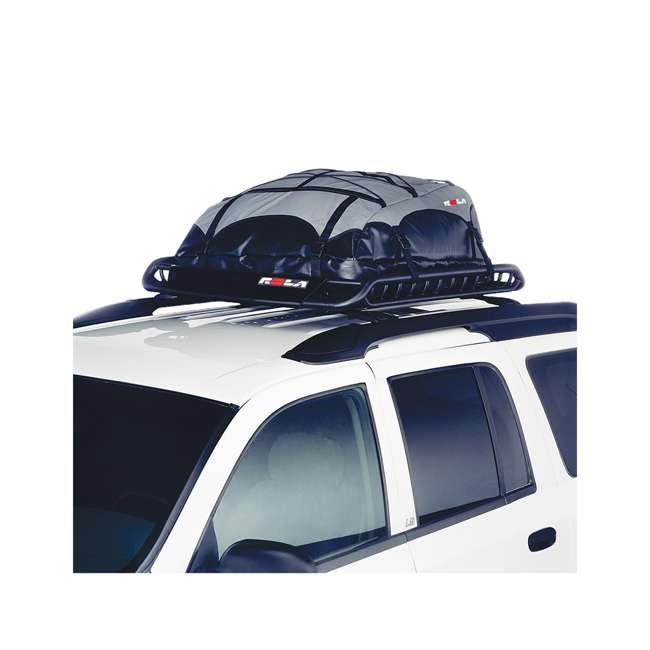 59504-U-D Rola Vortex 2 Piece Rooftop Cargo Carrier Rack Basket (Damaged) 4