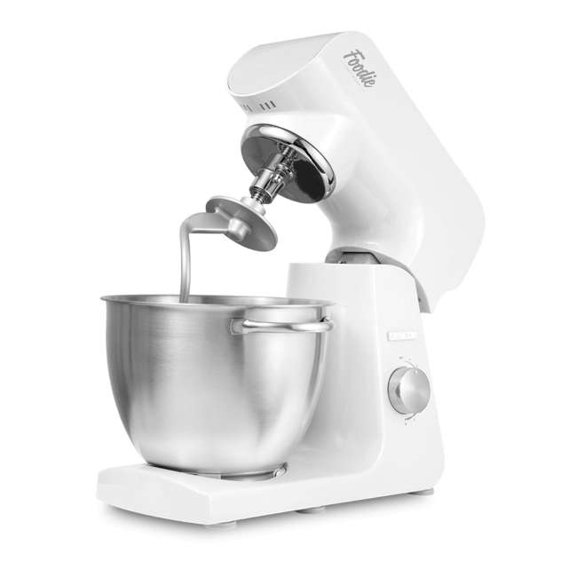 STM40WH-NAB1 Sencor STM40WH 8 Speed 4.7 Quart Stand Mixer with Beater and Dough Hook, White 6