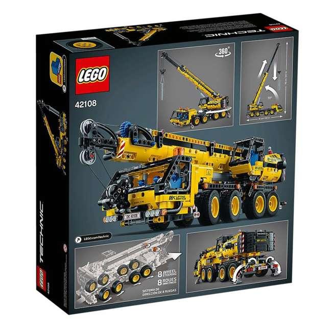 6288778 LEGO Technic 42108 Mobile Construction Crane Vehicle 1292 Piece Building Set 9