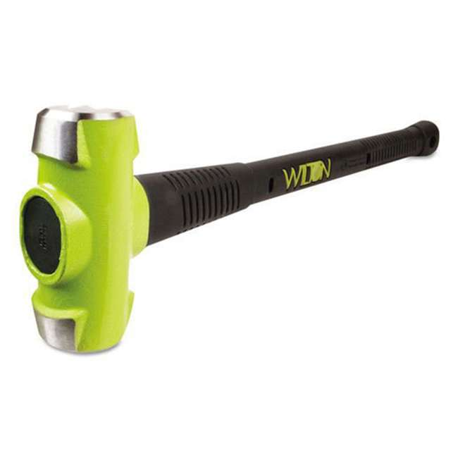 WIL-20624 Wilton 20624 BASH 6 Pound Head Sledge Hammer with 24 Inch Unbreakable Handle
