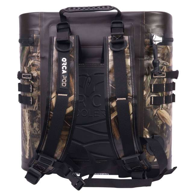 ORCPDSTRRTM5-U-B Orca Podster Realtree Max 14.25 Quart 12 Can Ice Cooler, Camo Green (Used) 1