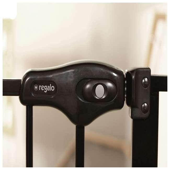 REG-1164EBDS Regalo 51-Inch Easy-Step Extra Wide Walk-Thru Safety Gate (2 Pack) 4