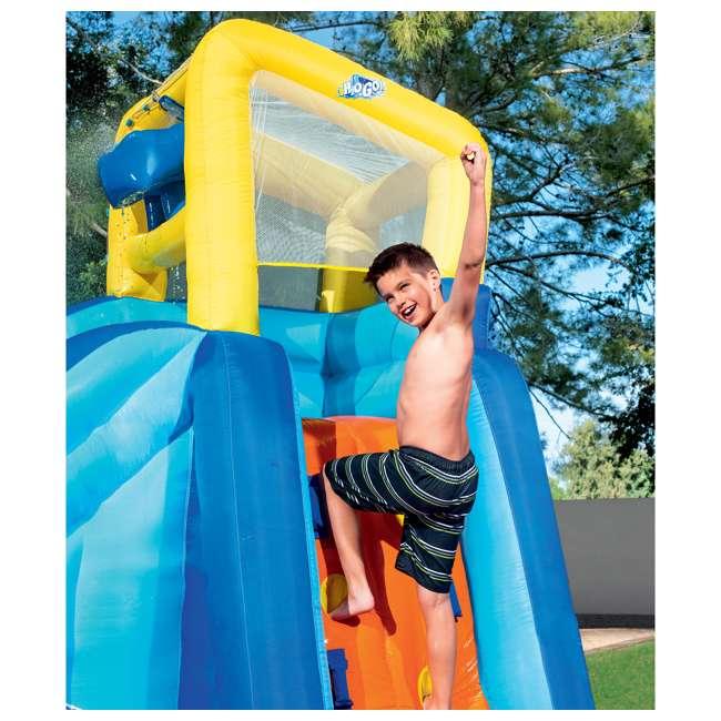 53319E-BW Bestway H2OGO! Hydrostorm Splash Mega Inflatable Water Park 5