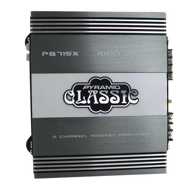 PB715X Pyramid PB715X 1000W 2-Channel Amplifier 2