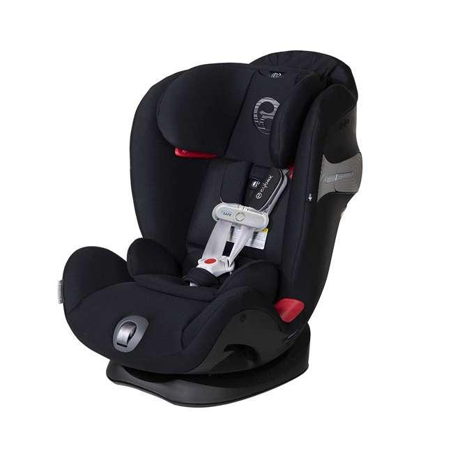 518002881 Cybex Gold Eternis S Convertible Infant Car Seat with SensorSafe Lavastone Black