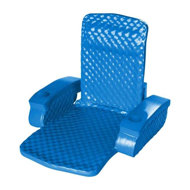 6370126-U-B TRC Recreation Super Soft Baja Swimming Pool Folding Chair Foam Float (Used) 3