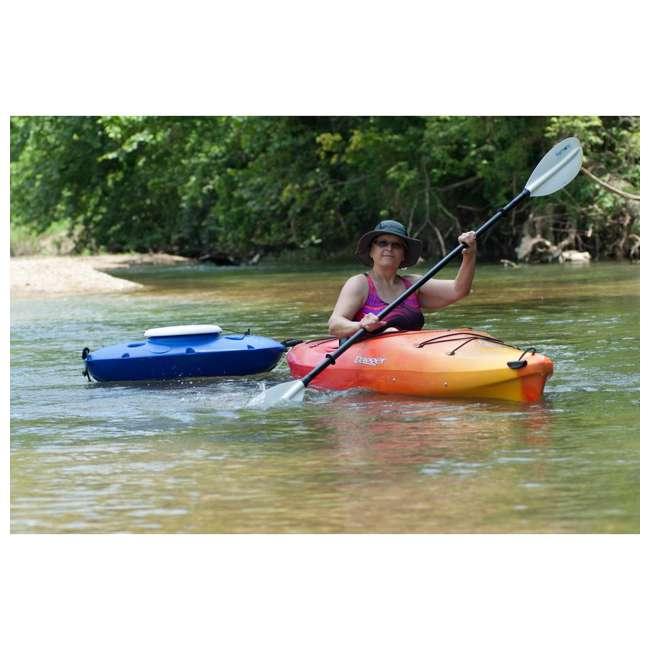 CK00227R-U-B CreekKooler Kayak or Canoe River Floating Beverage & Food Cooler, White (Used) 4