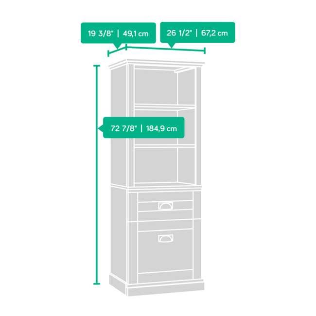 SF-419281-U-A Sauder Home Furniture Grange Tall Storage Farmhouse Shaker Cabinet (Open Box) 7