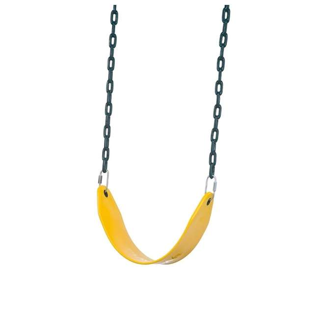 PS 7948 Playstar PS 7948 Children's Flexible Swing Seat with Covered Chains, Yellow