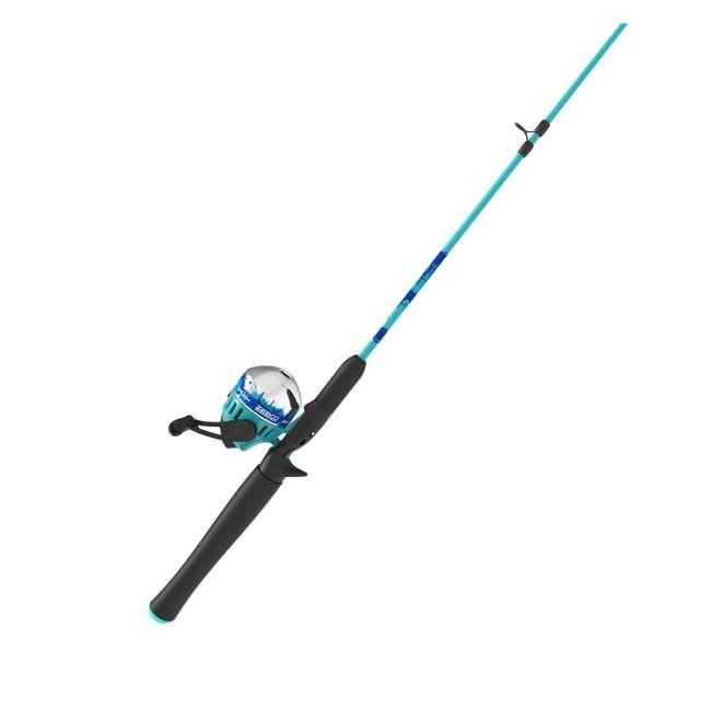 SPLSC602MB Zebco Splash Spincast 4-Piece Fishing Rod and Reel Combo 1