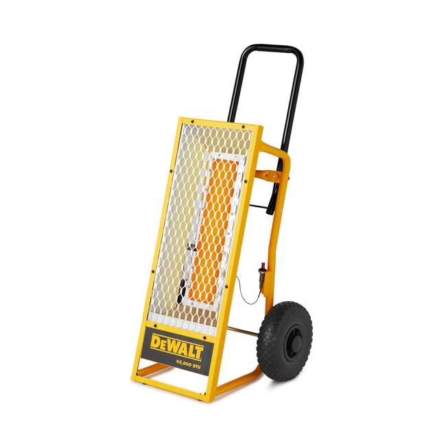 MH-F340620 Dewalt 45,000 BTU Radiant Propane Portable Job Site Heater