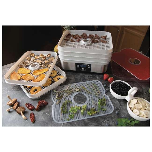 32100A + 67000-12PACK + JC100 Hamilton Beach Food Dehydrator, Mason Jars, and Juicing Book 4