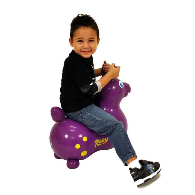 KET-7007 Gymnic Rody Horse Ride-On Bouncing Toy, Purple 2
