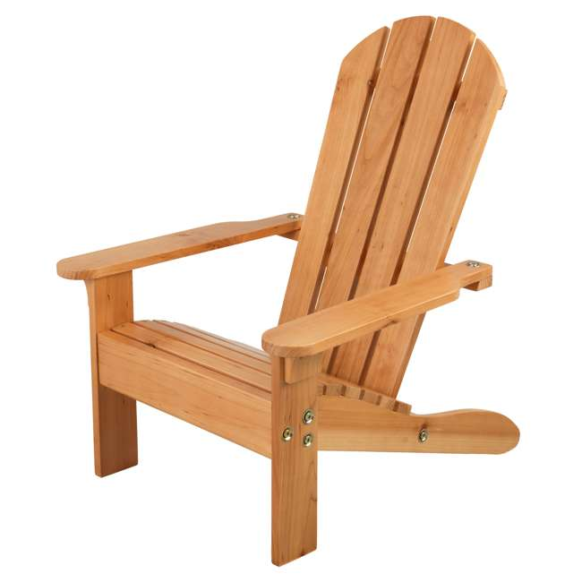 83 KidKraft Childrens Outdoor Patio Lawn Kid Sized Wooden Adirondack Chair, Honey