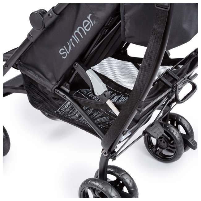 32693 Summer Infant 3Dlite Lightweight Folding Convenience Toddler Baby Stroller, Teal 9