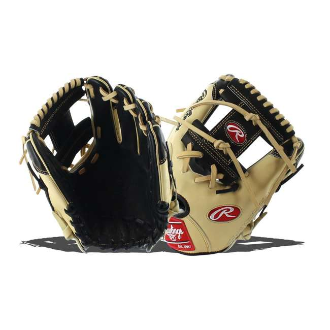 "PRO204-2BCC-OB Rawlings Pro Label 11.5"" Adult Right Hand Infield Baseball Glove (Open Box) 3"