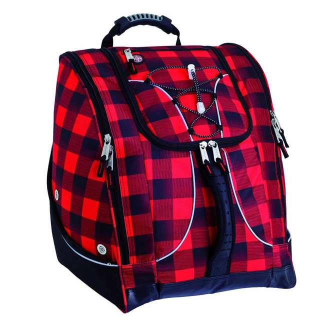 330LJ Athalon Everything Travel Ready Camping and Hiking Boot Bag Backpack, Lumberjack