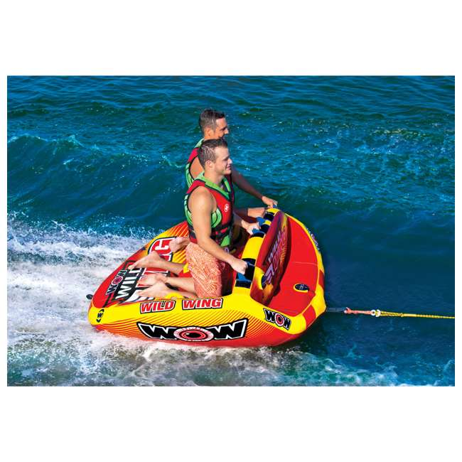 18-1120 World of Watersports Wild Wing 2 Rider Inflatable Tube 3