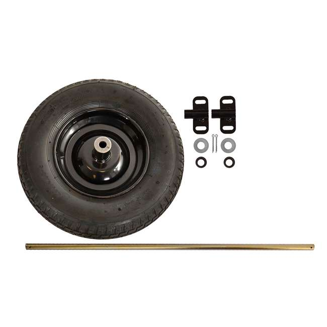 AMES-TWKT Flat Free Single to Dual Universal Wheel Conversion Kit