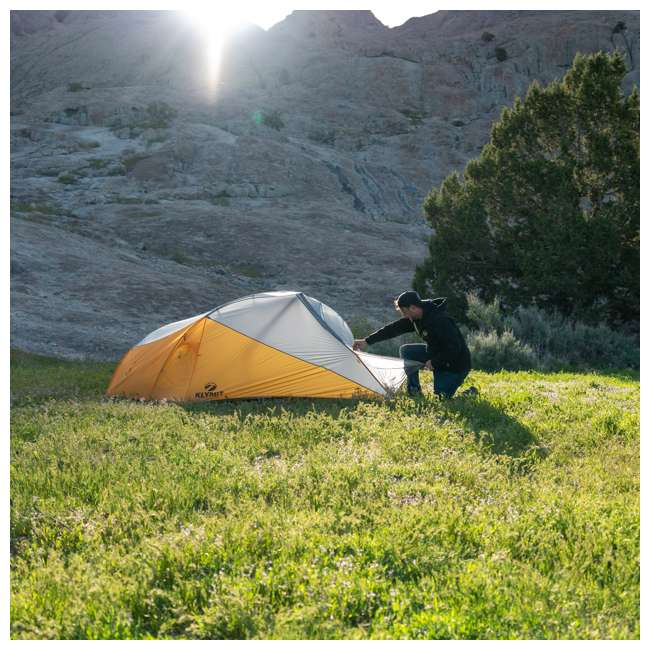 09M4OR01D Klymit 09M4OR01D Maxfield 4 Person 3 Season Lightweight Backpacking Camping Tent 8