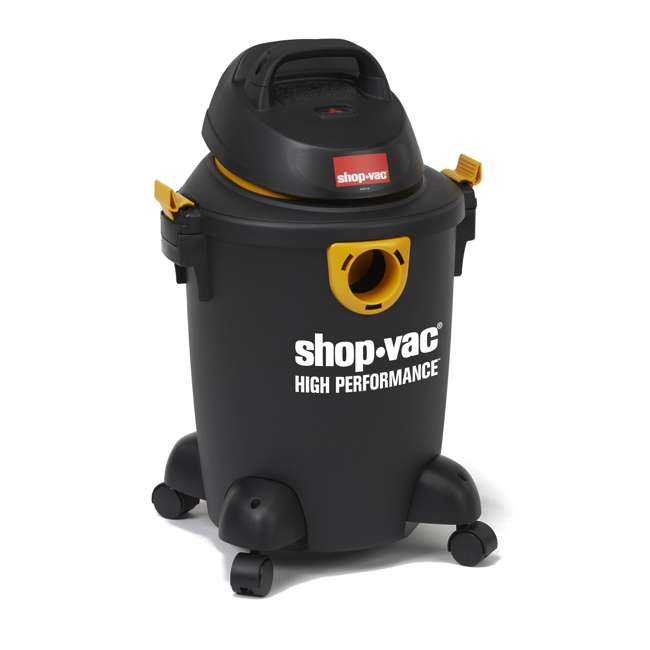 5987000 Shop Vac High Performance Portable 6 Gallon Wet Dry Vacuum Cleaner & Blower 2