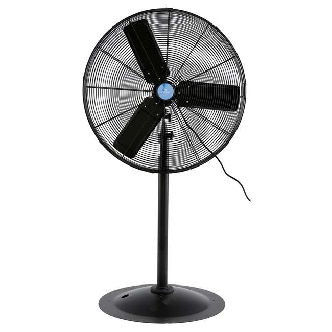 ILG8P30-72 iLiving 30-Inch Commercial Pedestal Electric Floor Fan