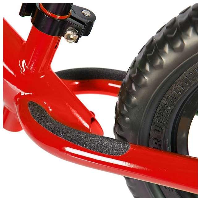 ST-S4RD + PSKISET-12-BK Strider 12 Sport Balance Kids Learning Bike, Red + Strider 12 Inch Bike Snow Ski Set  8