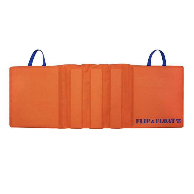 SL-15003 Swimline Flip & Float Boat and On-Water Cushion, Orange