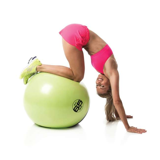 EST-GB65 Escape Fitness USA ESTGB65 Green Inflatable Exercise Ball for Steady Ab Workout 2