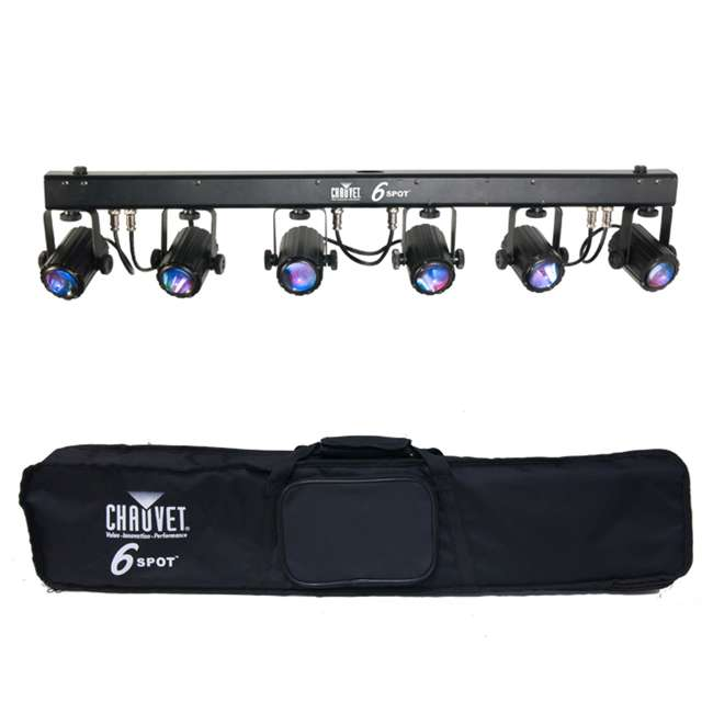 6-SPOT Chauvet 6-Spot LED Dance Effect Light Bar System | 6SPOT
