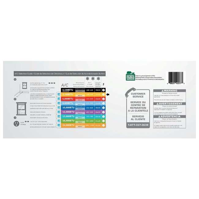 ESA405P Haier Home/Office Energy Star Window Air Conditioner 5,100 BTU AC (For Parts) 5