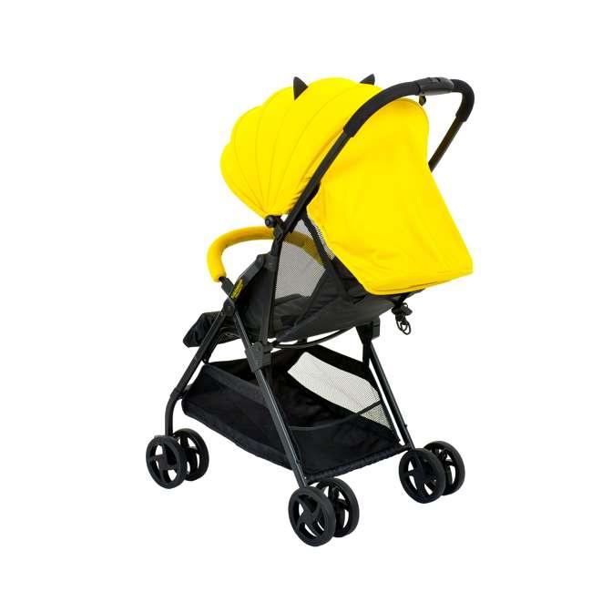 KE-7701BATYL Kids Embrace DC Comics Batman Lightweight Compact Stroller with Canopy, Yellow 3
