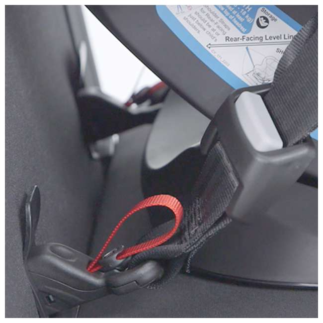 518002873 Cybex Gold Eternis S All in 1 Convertible Infant Baby Car Seat, Lavastone Black 3
