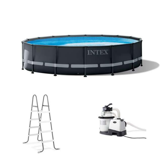 26325EH Intex 16 Foot x 48 Inch Ultra XTR Frame Swimming Pool Set
