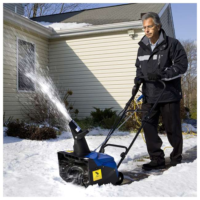 "SJ620 Snow Joe Ultra 18"" 13.5A Electric Single Stage Heavy Snowfall Snow Blower (Used) 1"