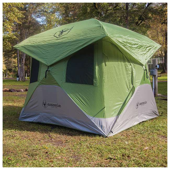GAZL-33300 Gazelle Tents T3 Pop-Up Hub 3-Person Outdoor Camping Tent (2 Pack) 2