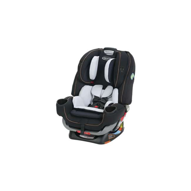 2047648 Graco 4Ever Extend2Fit 4 In 1 Rear & Front Facing Car Seat Booster Combo, Hyde 4