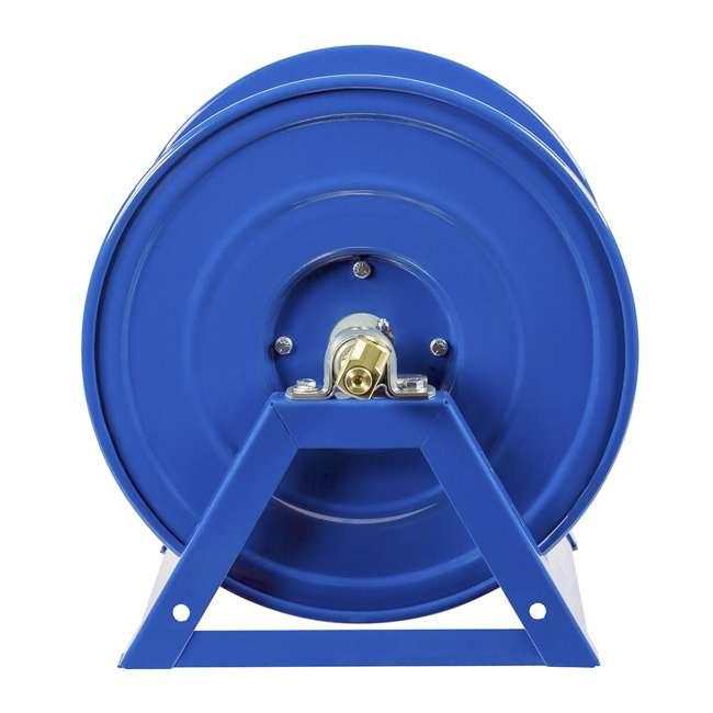 1125-4-100 Coxreels Steel Hand Crank Hose Reel 100 Foot Capacity, Blue 5