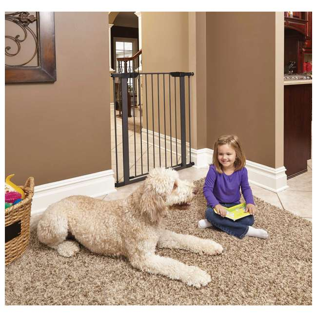 2929SG-U-A MidWest Homes for Pets 29-Inch Steel Extendable Home Pet Gate (Open Box) 2