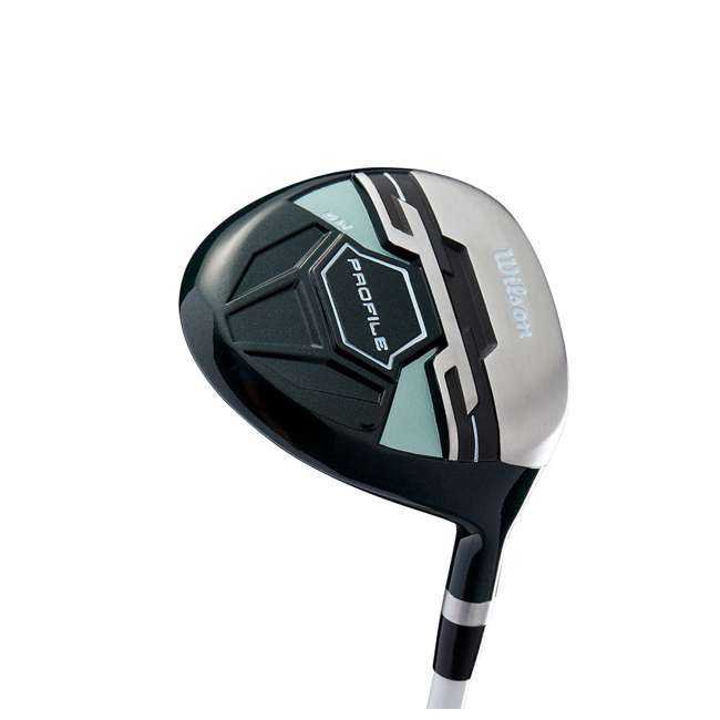 WGGC4380L + WGWP43500 Wilson Profile XLS Women's Left Hand Graphite Golf Club Set & Balls 8