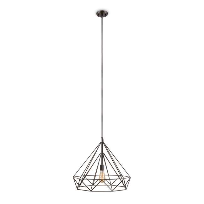 PLC-4110802U9 Philips Gabbia 18-Inch Pendant Light, Oiled Bronze (2 Pack) 1