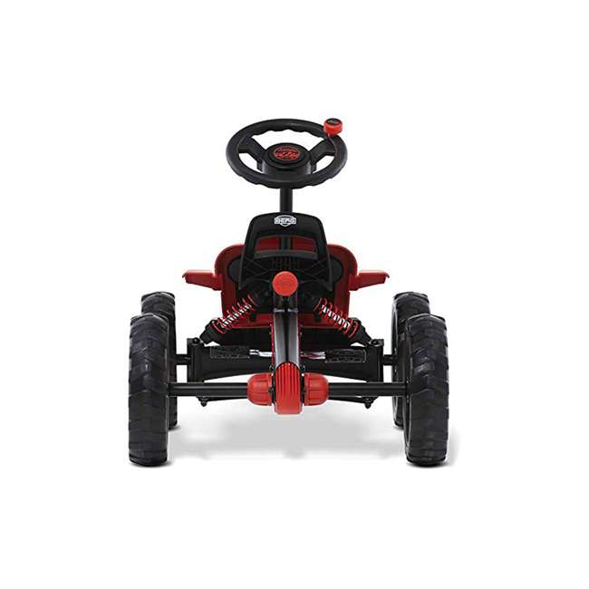 24.30.13.00 BERG Toys Jeep Buzzy Rubicon Pedal Powered Kids Safe Go Kart, Red 2
