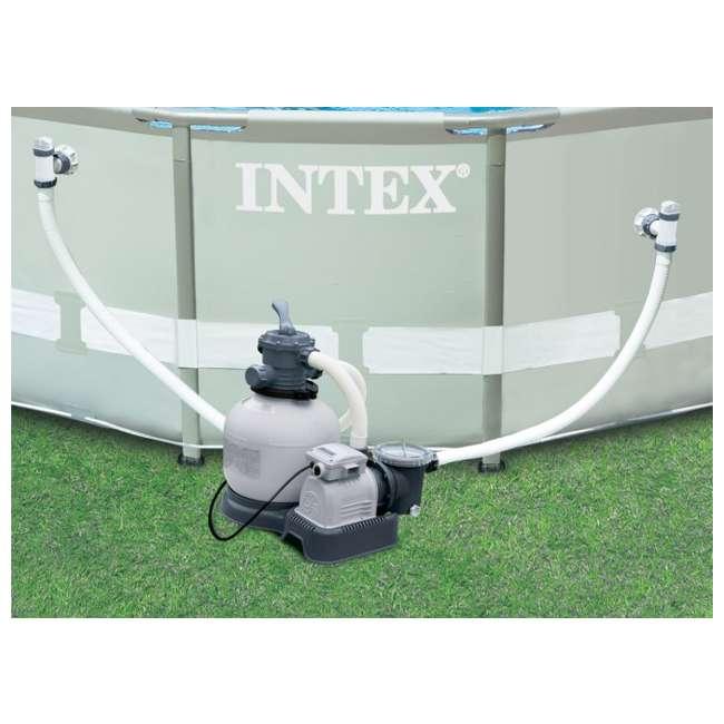 28647EG Intex 2800 GPH Above Ground Pool Sand Filter Pump 3