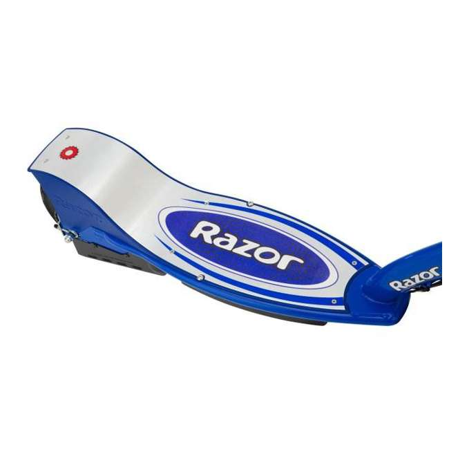 13116240 + 97778 + 96785 Razor E300S Seated Electric Scooter (Blue) with Helmet, Elbow & Knee Pads 8