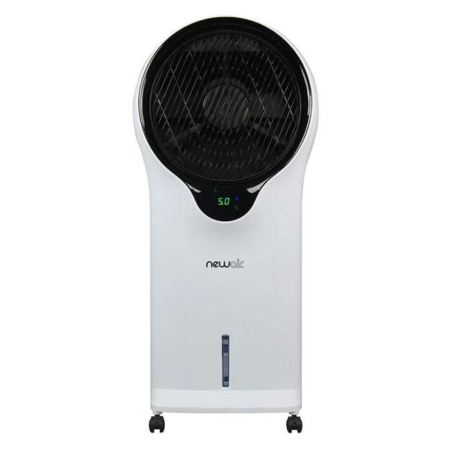 EC111W NewAir Portable Air Conditioner Evaporative Cooler Tower Fan with Remote, White 1