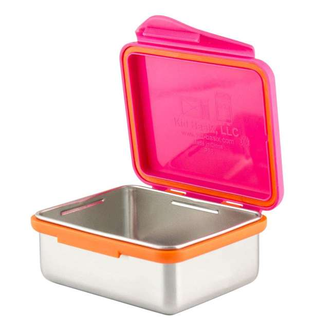894148002800+894148002923+894148002961+89414800210 Kid Basix 23oz Lunch Box + 13oz and 7oz Containers + 12oz Water Bottle 5