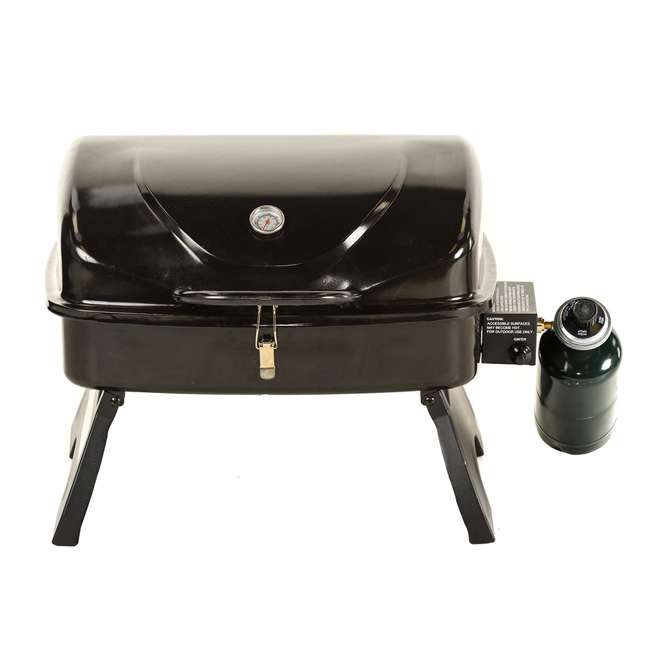 TT250 Smoke Hollow TT250 Single Burner 250 Sq. In. Tabletop Portable Gas Grill, Black